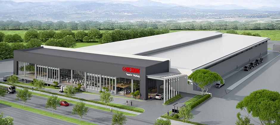 Dexion New Factory